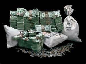 Piles & Bags of Money