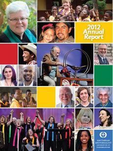 UUA Annual Giving Report 2012