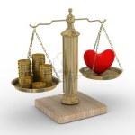 Balancing money & heart